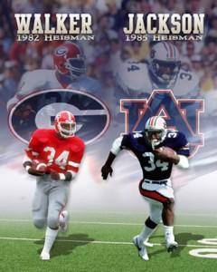 Georgia vs Auburn Bo vs Herschel
