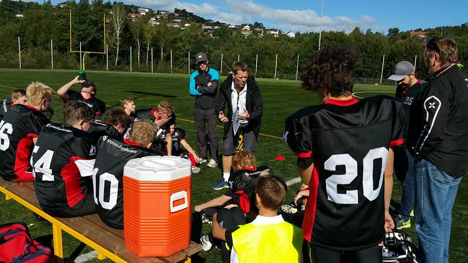 Kristiansand U15 2015 - foto Kristiansand Gladiators