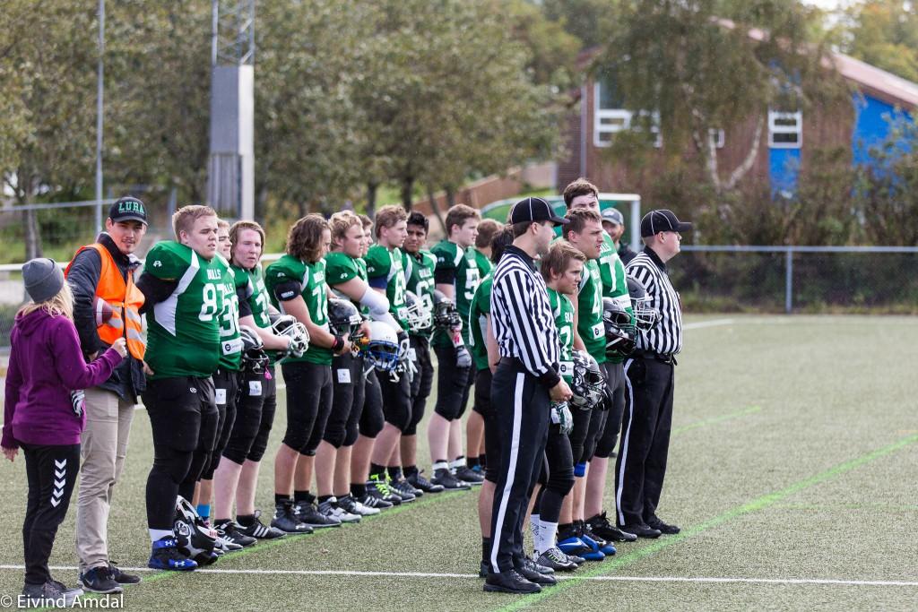 Lura Bulls U19 2015 - foto Eivind Amdal