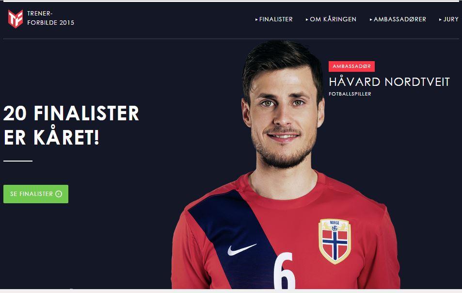 Norges beste trenerforbilde