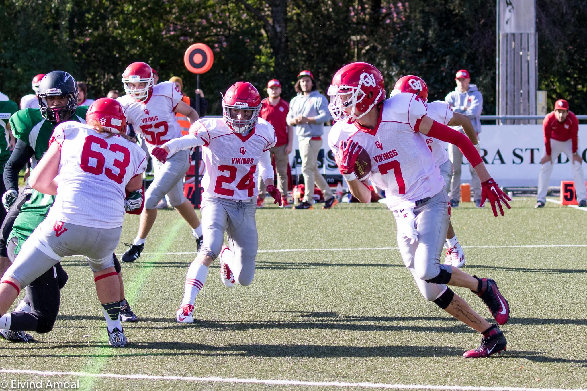 Oslo Vikings U19 2015 - Foto: Eivind Amdal
