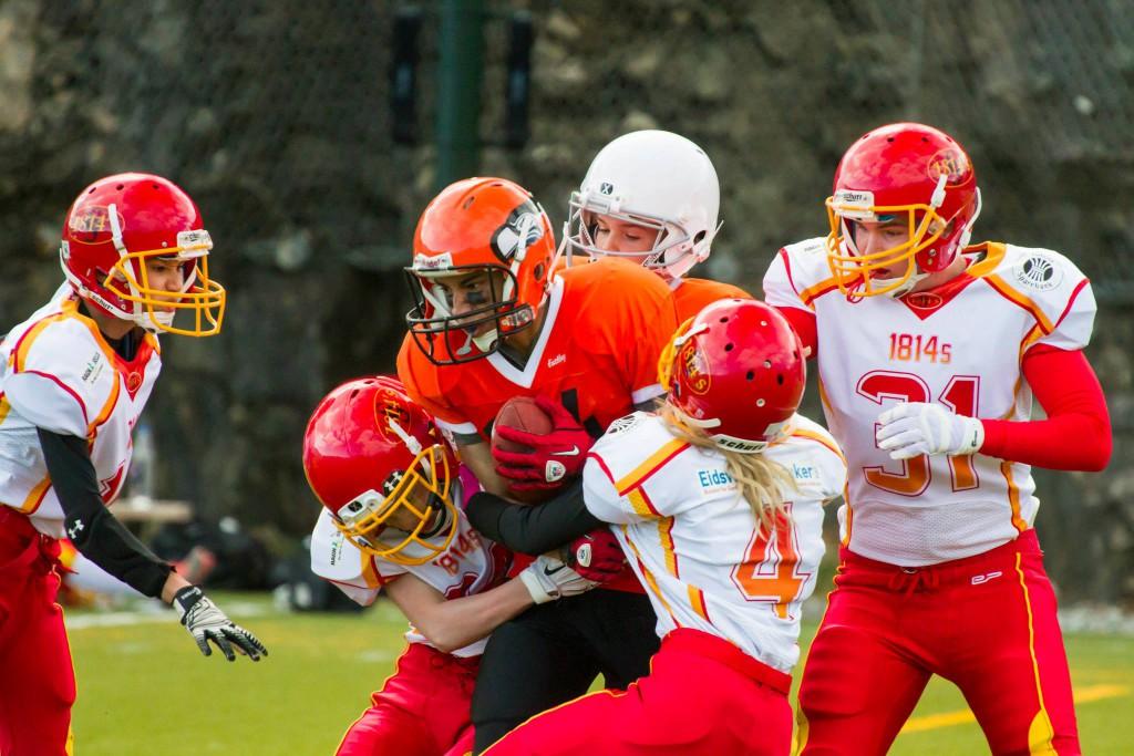 U17 Seahawks vs 1814s 2015 - foto Øyvind Aasgård