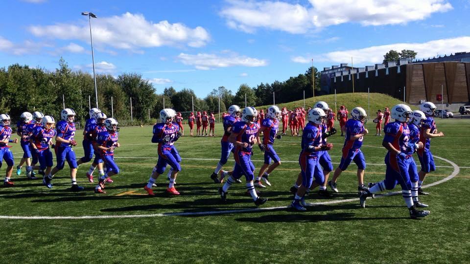 Vålerenga Trolls og Oslo Vikings U15 - foto Trolls