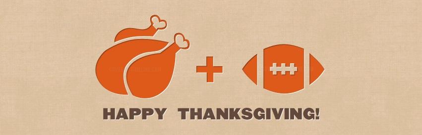 Fotball hører med på thanksgiving