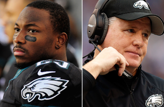 LeSean McCoy og Chip Kelly