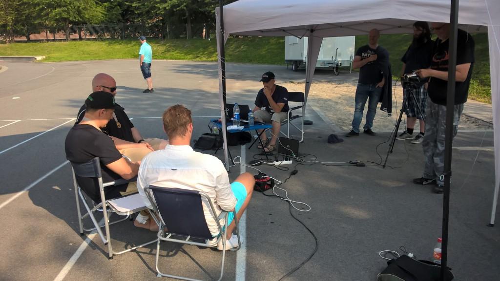 Studio NM-finalen 2015 - foto JM Henriksen