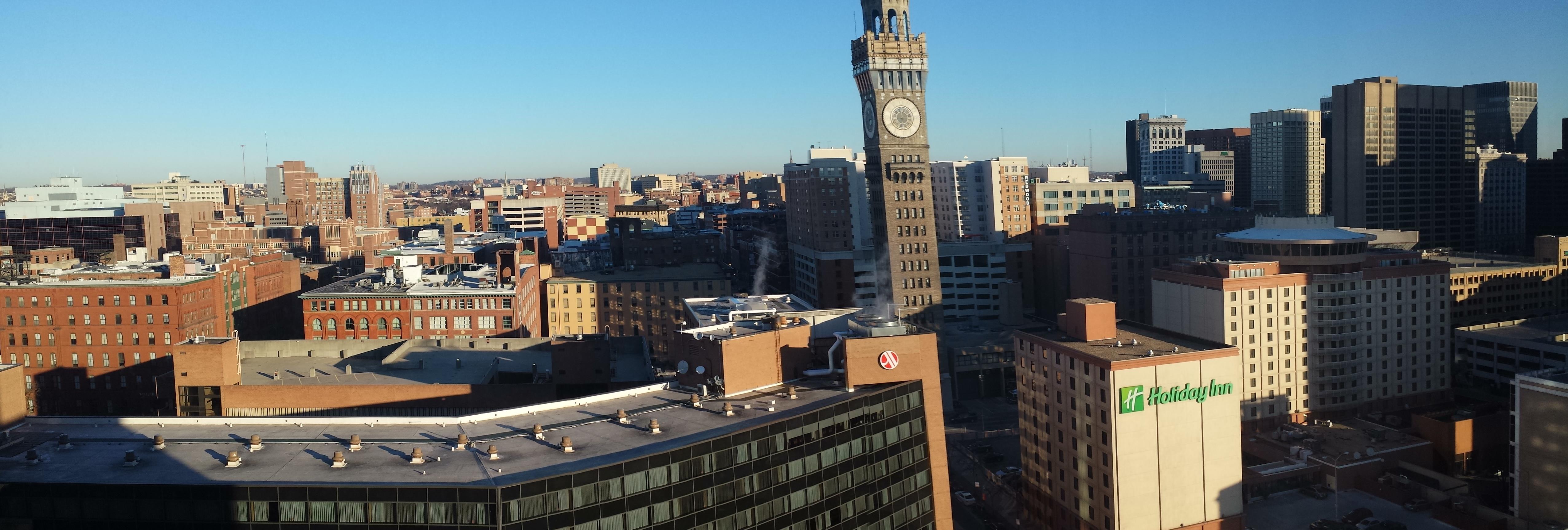 Baltimore, eller Charm City. Hjembyen til Ravens.