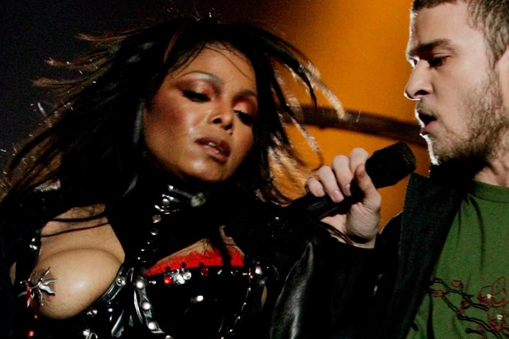 Super Bowl XXXVIII Halftime shocker Janet Jackson Justin Timberlake