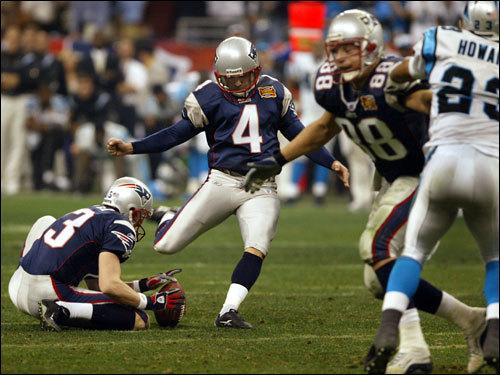 Adam Vinatieri og New England Patriots senker drømmen til Panthers