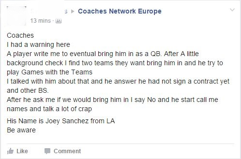 Sanchez feedback anonymisert
