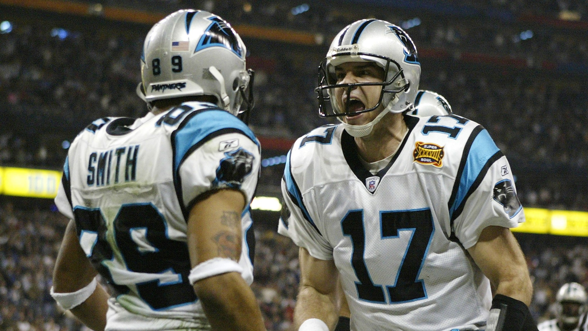 Jake Delhomme og Steve Smith var stjernene i 2003-sesongens Cardiac Cats.