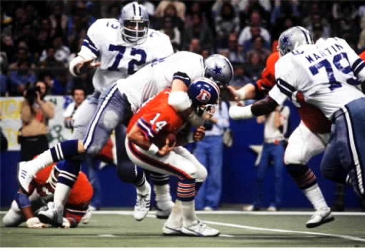 Super Bowl XII ble et ublidt møte med Cowboys.
