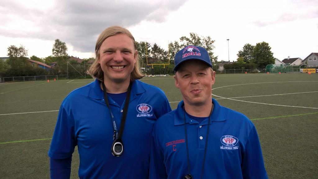 Scott Boer og Thomas Frausing 2015 - foto JM Henriksen