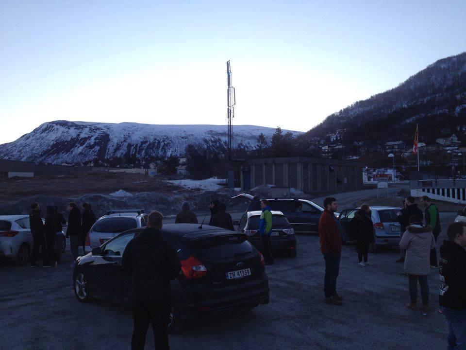Avreise til Luleå, tidlig på morgenen