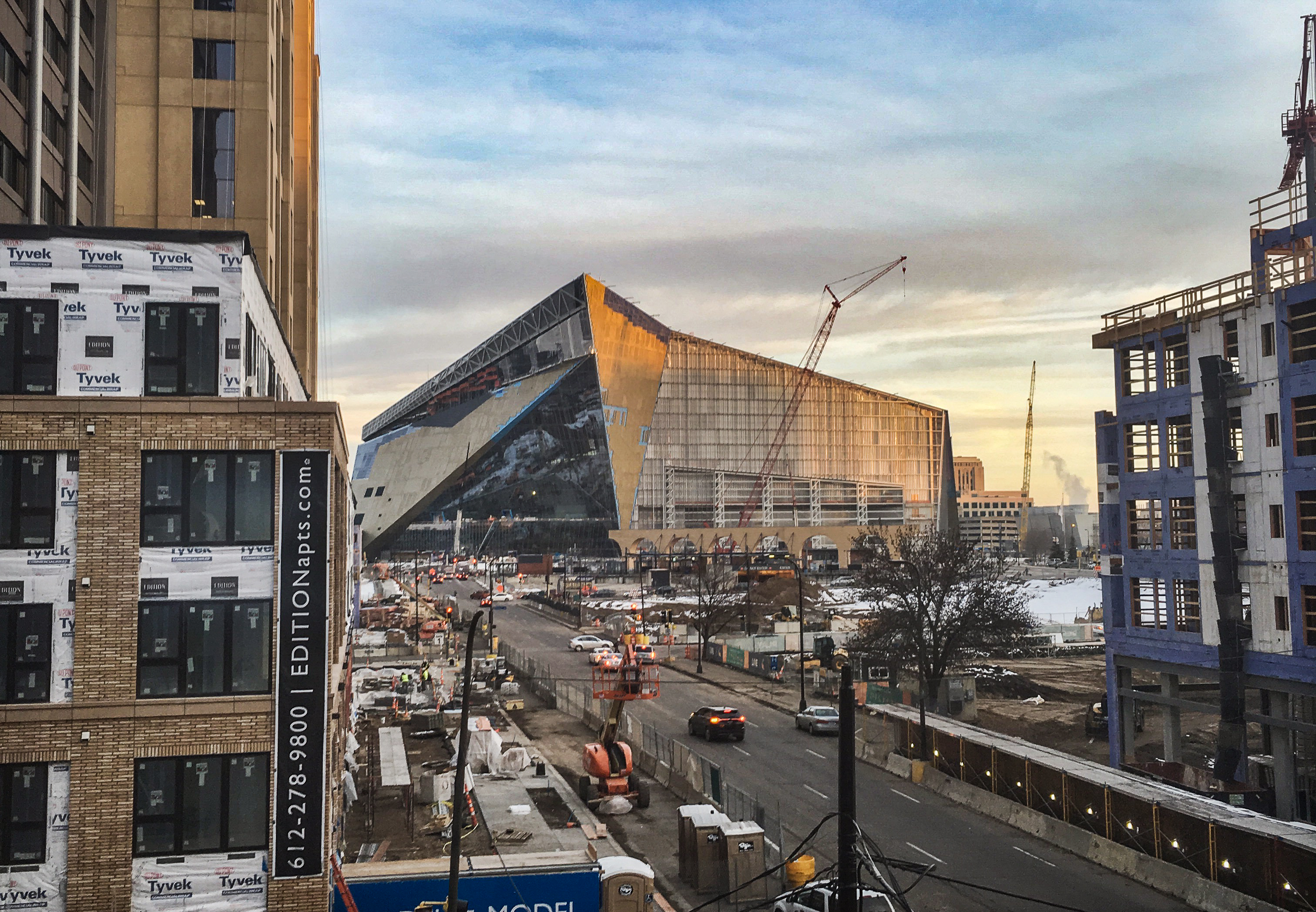 Minnesota Vikings har fått seg ny stadion. Den første grunnspillkampen der går, naturlig nok, mot Packers