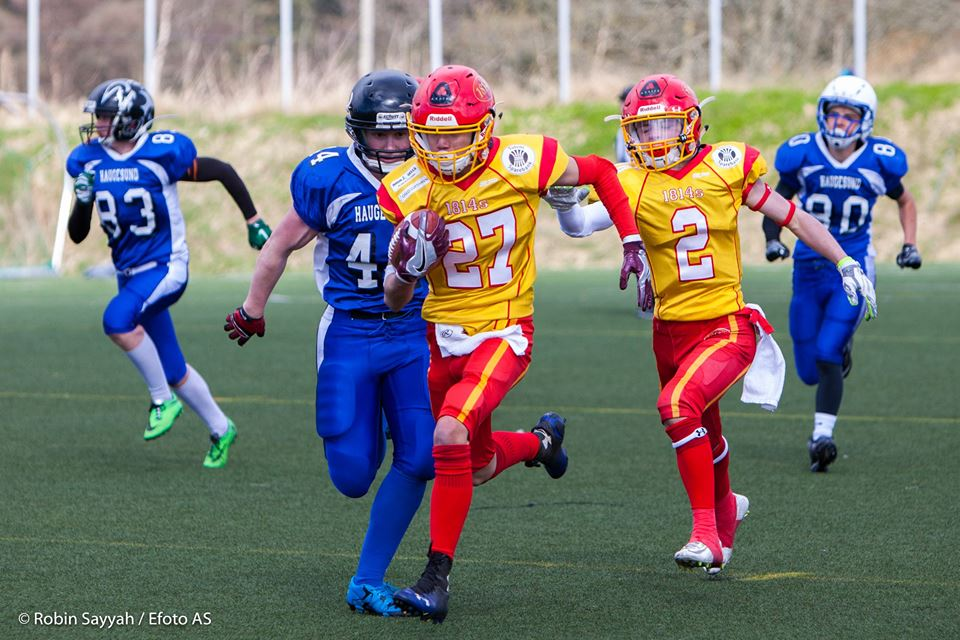 U17 Haugesund Hurricanes vs Eidsvoll 1814s 2016 - foto Robin Sayyah Efoto AS