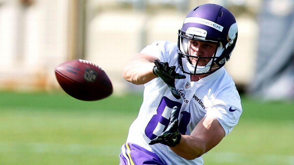 Moritz Noehringer, tysk WR Minnesota Vikings
