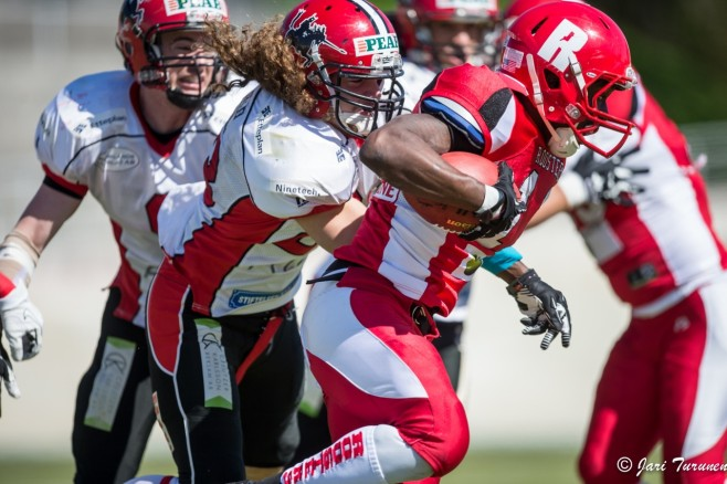 Helsinki Rooster vs Carlstad Crusaders IFAF Champions League
