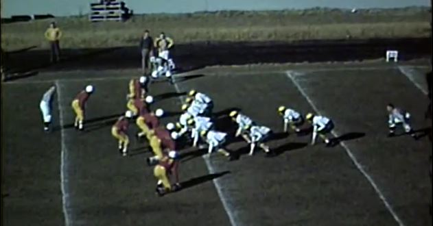 Idaho vs Oregon 1946 formations