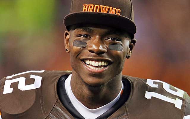 Josh Gordon smile