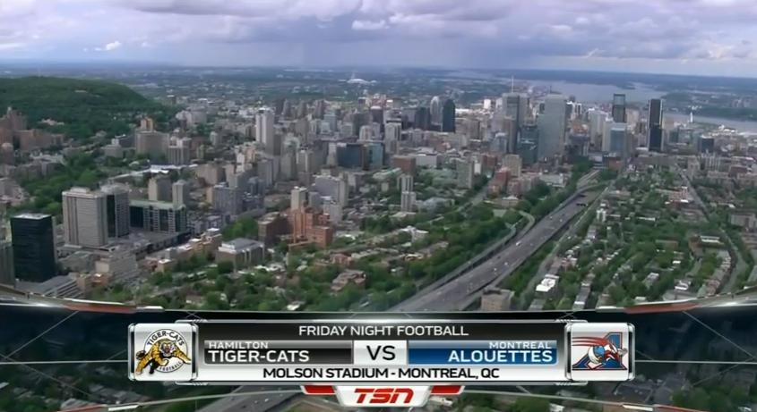 Montreal Alouettes vs Hamilton Ticats 2016