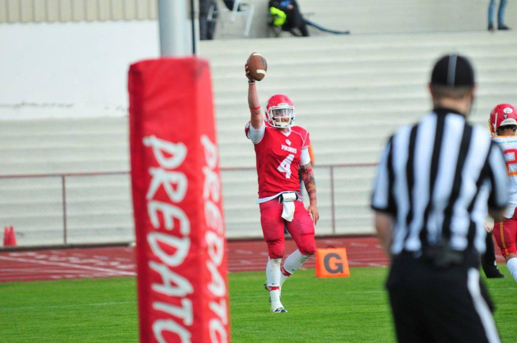 Touchdown Willingham NM 2016 - foto Henning Ringlund