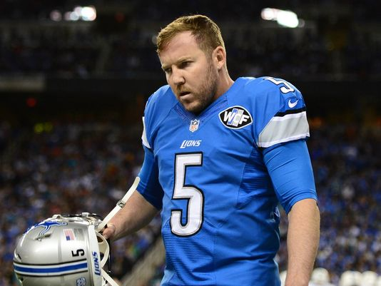 K Matt Prater foto: Andrew Weber, USA Today Sports