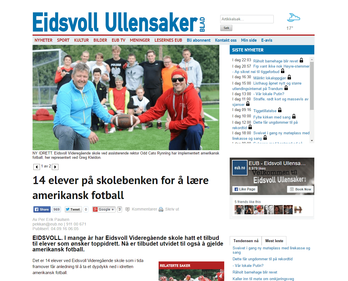 EUB fotball