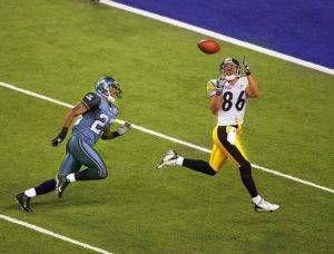 Wards touchdown i Super Bowl XL