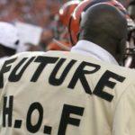 """I 2007 feiret Johnson en touchdown ved å ta på seg en jakke hvor det stod """"Future HOF 20??"""". Tiden får vise om han hadde rett i det."""