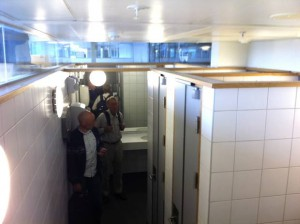 Gardermoen toalett - Foto Fredrik Drevon