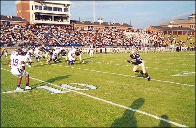 Stillman Stadium action