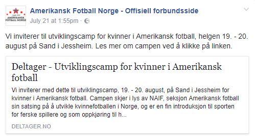 dame fotball norge
